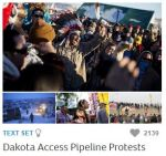 Newsela offers information on many current events, including the Dakota Access Pipeline Protests