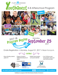 YouthQuest Flyer 1718