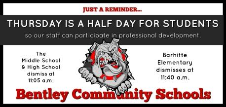 Half day Reminder